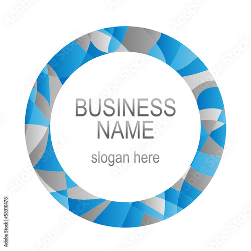 Circular Rim BUSINESS LOGO (symbol icon sign marketing)