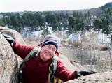 Rock climbing senior male #1