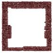 Frame background cube