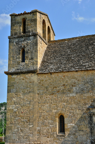 France, Vezac church in Dordogne