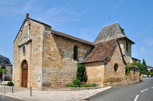 France, picturesque village of Bretenoux in Lot