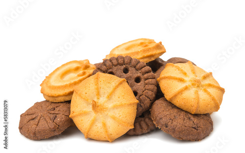 Biscuits isolated
