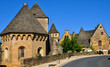France, Saint Geniest church in Dordogne