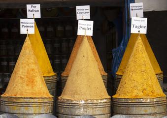 shop in the market of Essaouira
