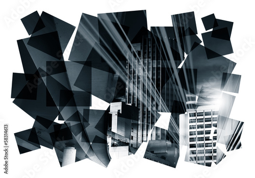 dark city abstract