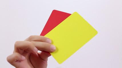 Fair Play. Soccer Penalty cards.