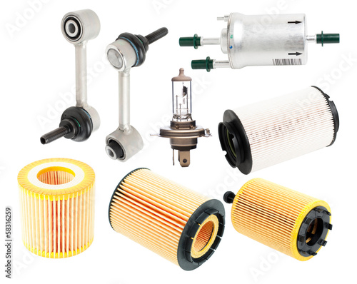 Auto Parts isolated
