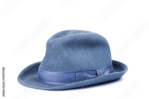 gray hat isolated