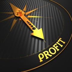 Profit. Business Concept.