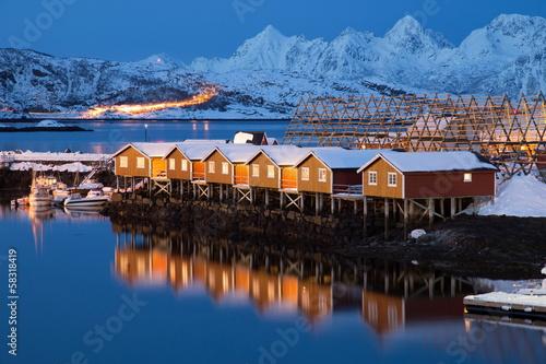 nordic houses - 58318419