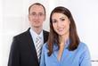 Erfolgreiche junge Frau - Frauenquote - Geschäftsleute