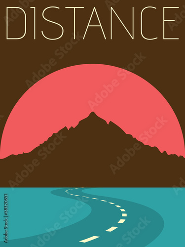 Vector Minimal Design - Distance