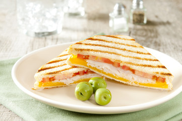 grilled panini sandwiches