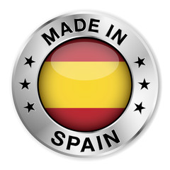 Made In Spain Silver Badge