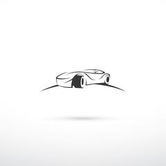 Race car symbol