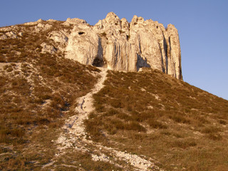 Chalk Mountain. Donetsk region.