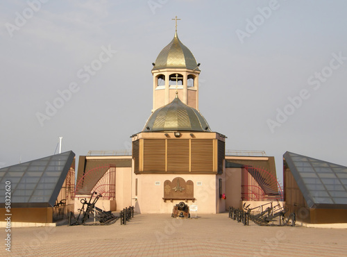 The church in the port. Odessa.