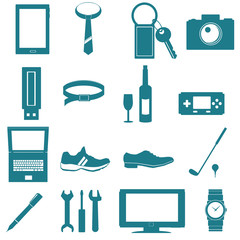 tools for men icon on white background