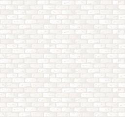 白いレンガ壁