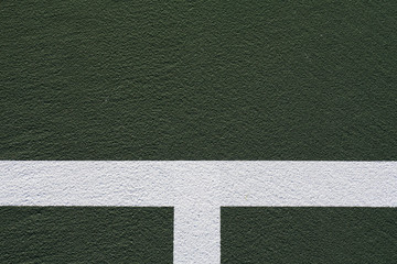 Tennis Court Lines for Background