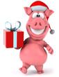 Obrazy na płótnie, fototapety, zdjęcia, fotoobrazy drukowane : Pig