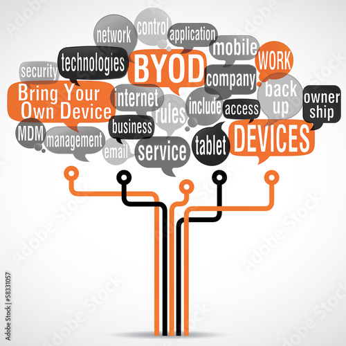 word cloud : byod (cs5)