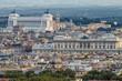 Roma, centro storico, panorama