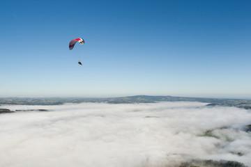 Survol de la Brume en Puys de Dôme