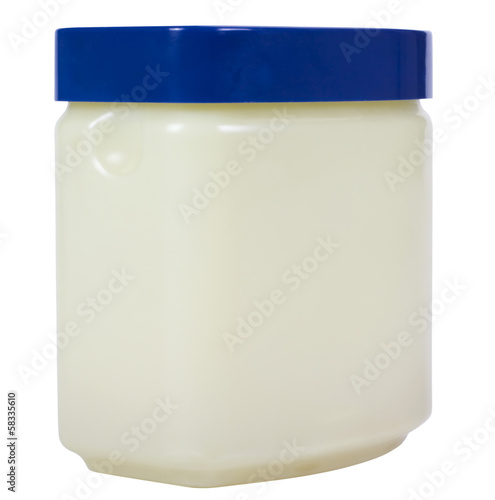 Close-up of a jar of beauty cream