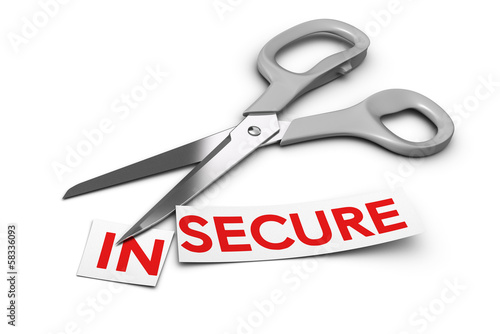Insecure vs Secure - Security Concept