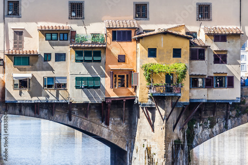 Ponte Vecchio Florence Italy - 58338247
