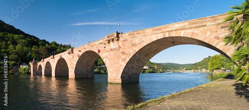 Papiers peints Pont Alte Brücke in Heidelberg Panorama