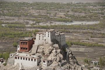 Tiksey Buddhist monastery  in Ladakh, India.