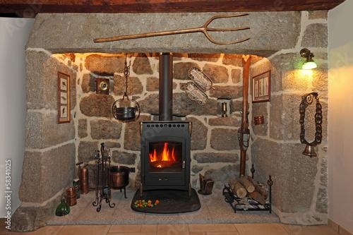 vieille chemin e en pierre de granit photo libre de. Black Bedroom Furniture Sets. Home Design Ideas