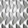 волнистые бумажные ленты на сером фоне