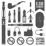 E-cigarette elements