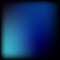 синие ромбы на черном фоне