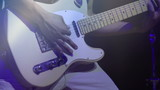 Man playing an Electric guitar. 240fps
