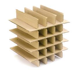 Cardboard paper model .