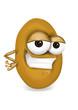 Cool potato character