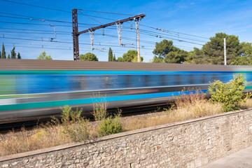 train électrique rapide
