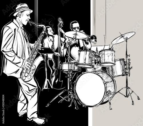 Jazz band - 58348004