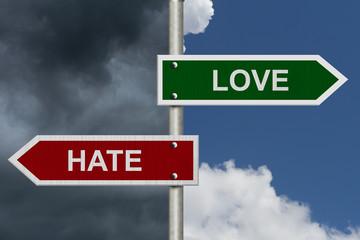 Love versus Hate