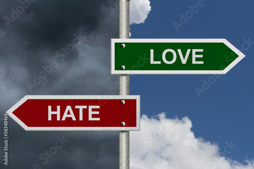 Love versus Hate