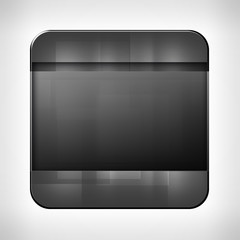 Dark metal texture icon