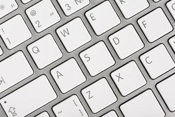 Close up computer keyboard keys