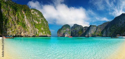 Leinwanddruck Bild Tropical beach, Thailand