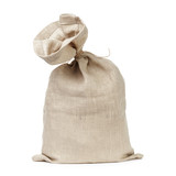 tied sack bag