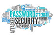 "Word Cloud ""Password Security"""