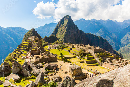 Mysterious city - Machu Picchu, Peru,South America